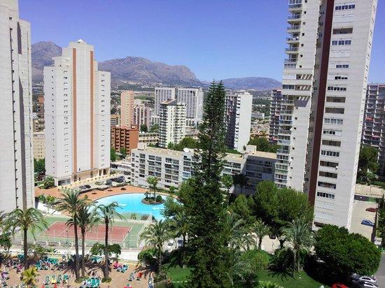 HOTEL PALM BEACH: View