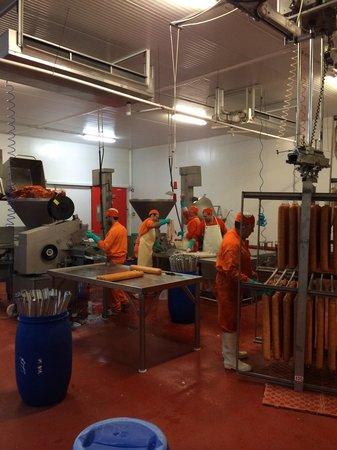 Jamonturismo : Proceso de fabricación del embutido