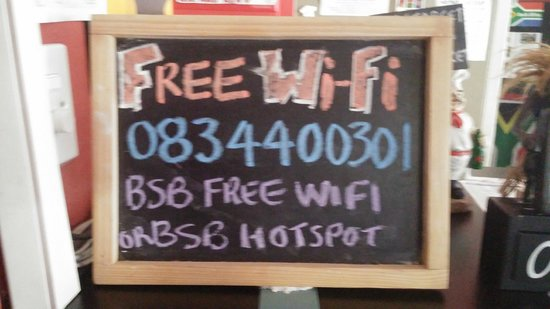 Brown Sugar Backpackers: Free Wifi!!!!