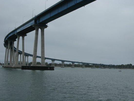 Coronado Bridge : Coronado Island Bridge