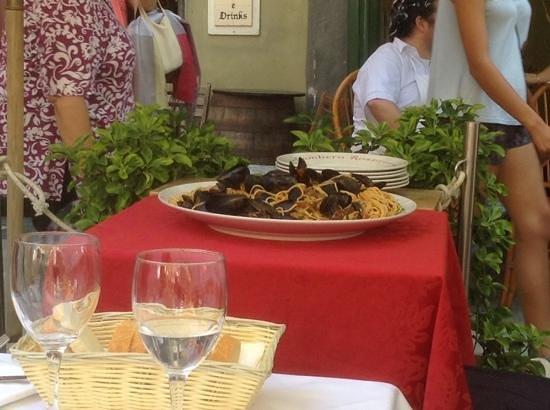 Ristorante Il Gambero Rosso: vongole e cozze