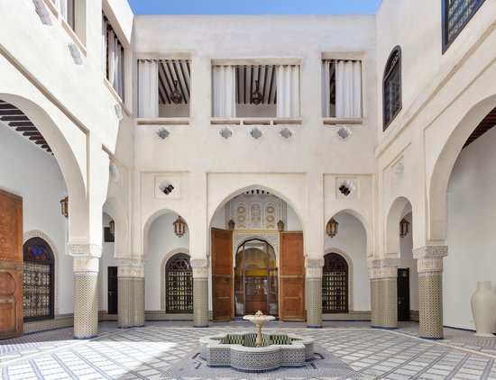 Palais Bahia: Patio