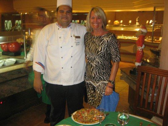Sea Life Resort: Our favourite Chef in the Sea Garden