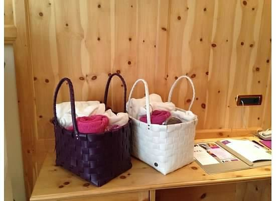 Alpin Garden Wellness Resort - Adults Only: Spa Baskets