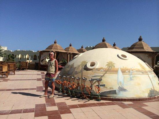 Sea Life Resort: One of the Shisha areas