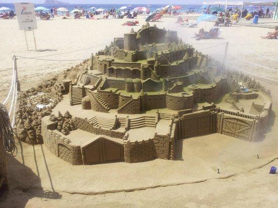 Palm Beach Hotel: Sandcastles
