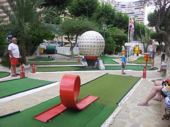 HOTEL PALM BEACH: Mini Golf