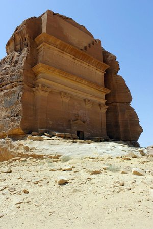 Mada'in Saleh: The largest and most impressive tomb