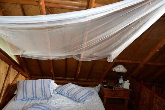 Maui Eco Retreat: Super comfortable bed we spent the honeymoon