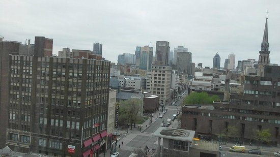 Hotels Gouverneur Montreal: Downtown Montreal view from the 10th floor