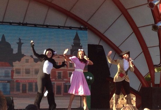 Holiday Village: Dick Whittington performed by entertainment staff