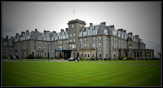 Gleneagles: Hotel and grounds