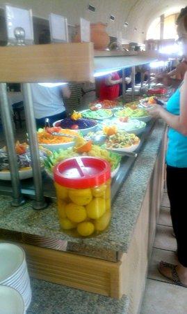 Club Marmara Dahlia : Buffet entrées