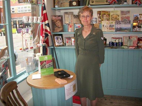 Birmingham Back to Backs: One of the National Trust Volunteers
