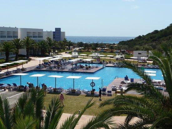 Grand Palladium Palace Ibiza Resort & Spa : Vista desde la habitación Bloque 2000-2ªplanta