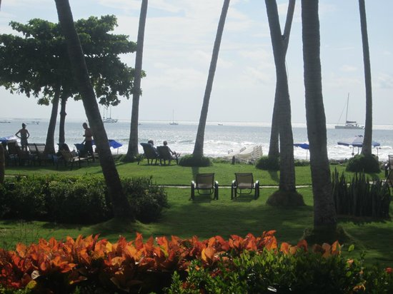 Hotel Tamarindo Diria: Taken from the patio