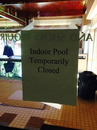 """Hilton Akron / Fairlawn: """"Sorry, tough luck..."""" the pool is not a """"guaranteed"""" amenity"""