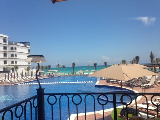 Grand Residences Riviera Cancun : View from the Restaurant