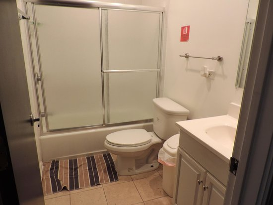 Urban Holiday Lofts : Private Bathroom in room of 8 females