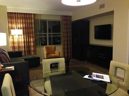 Comfortable King Bed Picture Of The Grandview At Las Vegas Las Vegas Tripadvisor