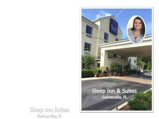 Sleep Inn & Suites University/Shands: INVITING  Entrance and Outstanding Registration Services