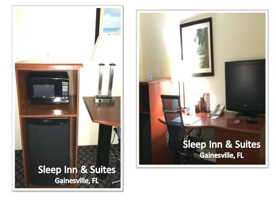 Sleep Inn & Suites University/Shands: N*I*C*E  Amenities To Make You Feel  'At-Home.'