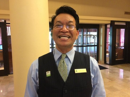 Embassy Suites by Hilton Richmond: Bobby is wonderful.  He is a jewel in this hotel's crown.