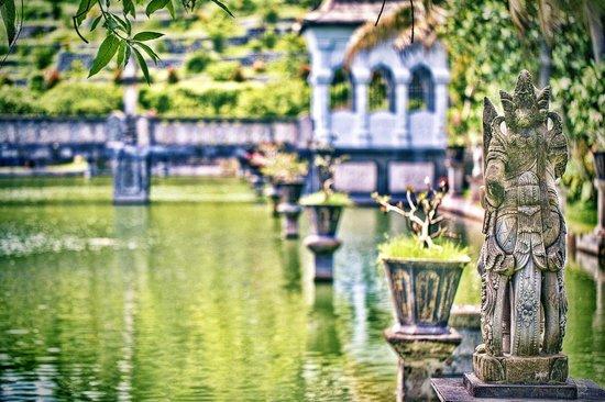 Le Palais d'eau de Soekasada Ujung : Ujung Water Palace - Padangbai - Bali - Indonesia - Wandervibes - grounds