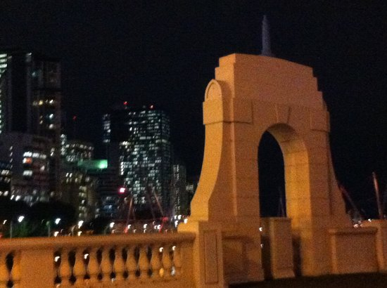 Brisbane City Council: View from William Jolly bridge