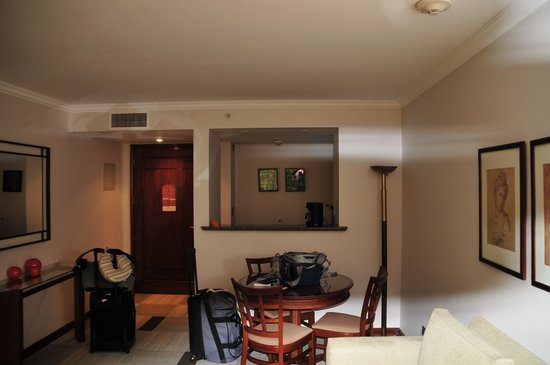 Plaza el Bosque San Sebastian: Living Room