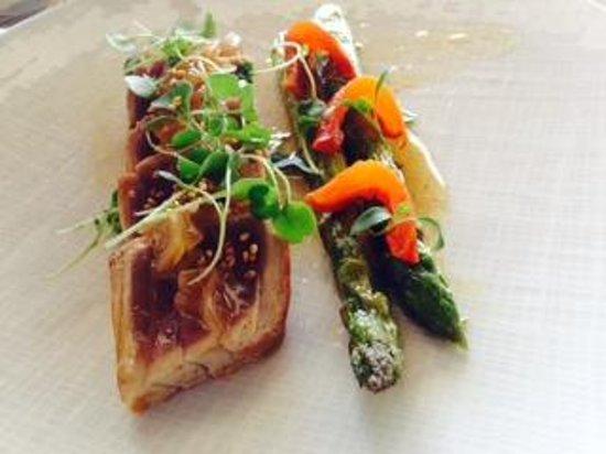 Le Sereno Hotel: Tuna dish, outstanding