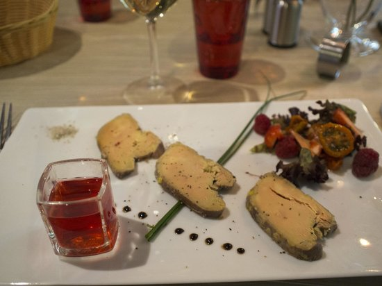 Logis Auberge le Voutenay : Foie Gras