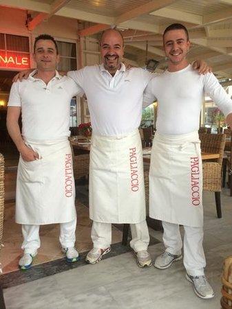 Pagliaccio: De kundige en zeer vriendelijke bediening!