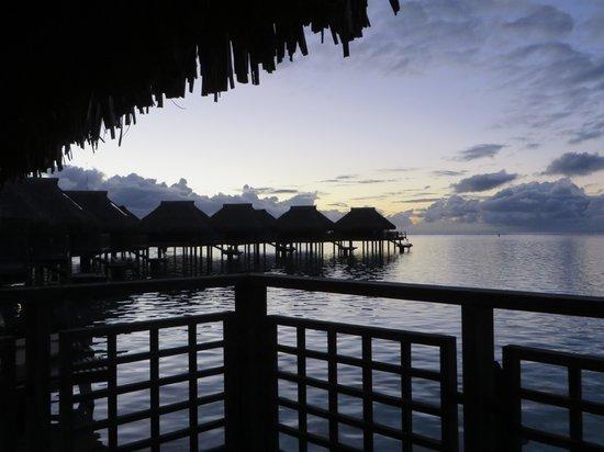 Hilton Moorea Lagoon Resort & Spa : Room with a View