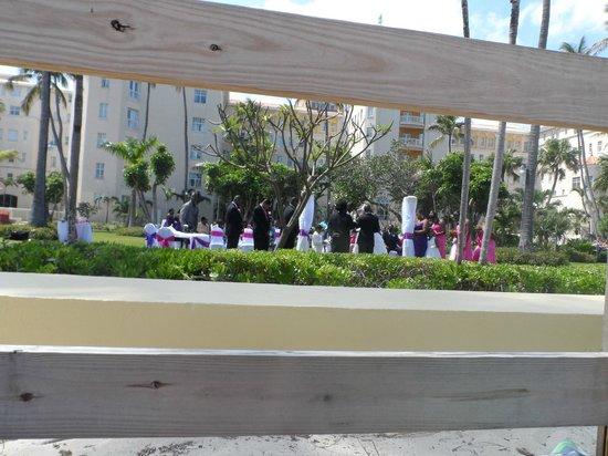 British Colonial Hilton Nassau: Casamiento en los jardines del Hotel