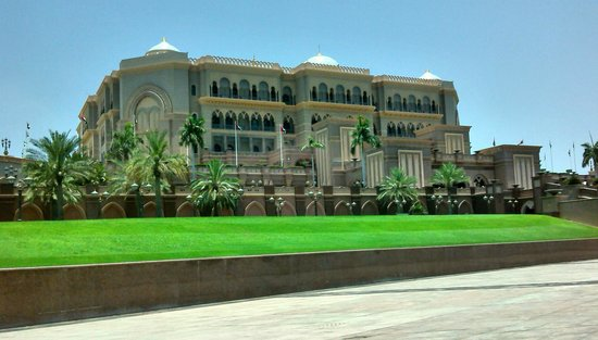 Emirates Palace: The central Area and Dome