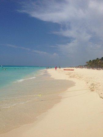 Viva Wyndham Maya : Beach walking distance from room
