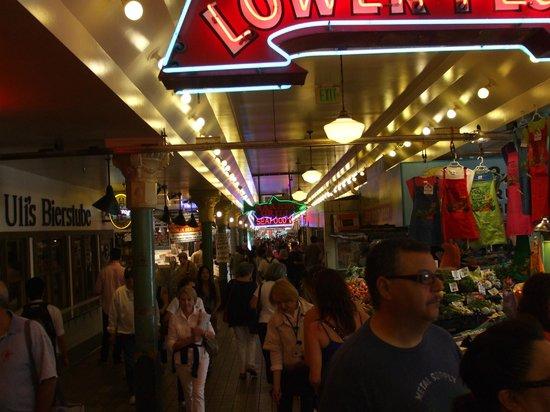 Seattle Bites Food Tours: Hustle and bustle inside the market