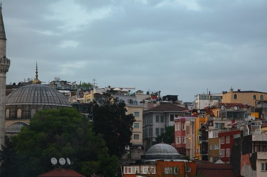 BEST WESTERN Antea Palace Hotel & Spa: Terrace view