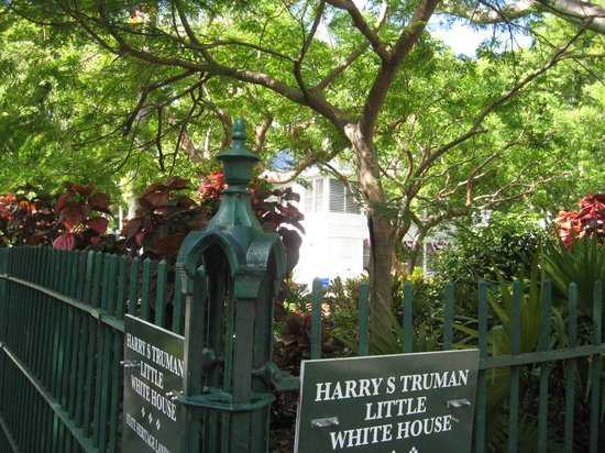 Harry S. Truman Little White House : Marker and entrance