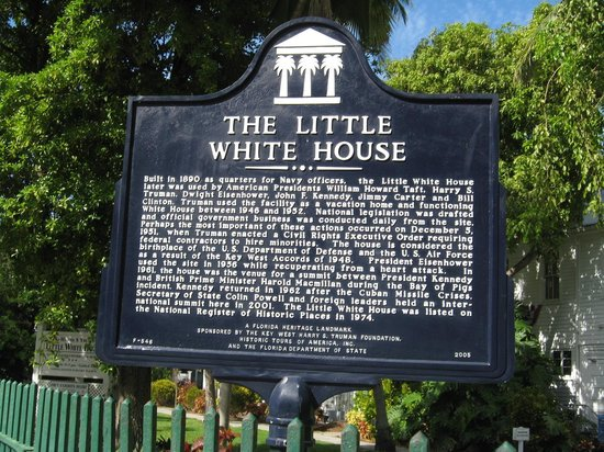 Harry S. Truman Little White House : Historical marker