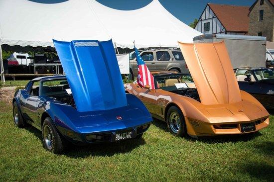 Williamsburg Winery: Corvettes for the Vet's, Memorial Day 2014