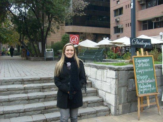 Hotel Neruda: Esquina do Hotel