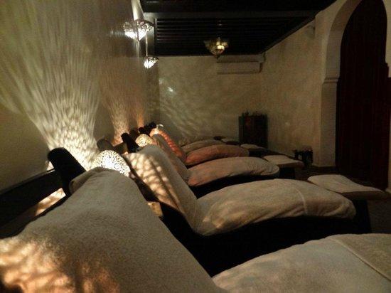 Les Bains de l'Alhambra : Le centre
