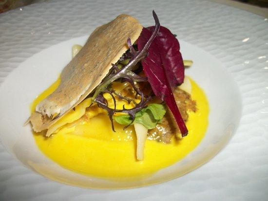 Hostellerie Clau del Loup : homard beurre d oursin