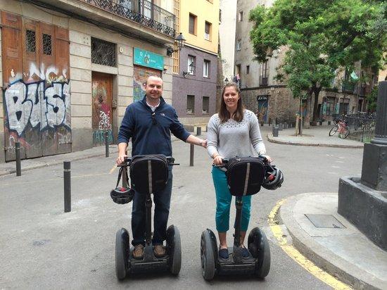 Barcelona Segway Glides: Segways!