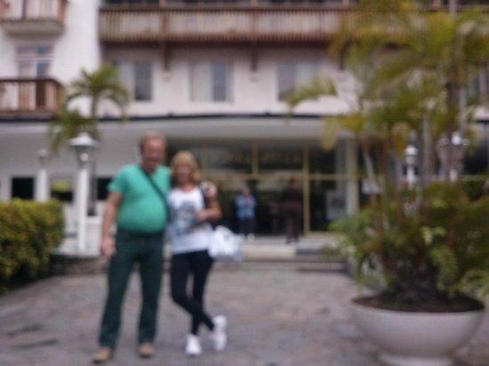 Hotel Avila: frente del hotel