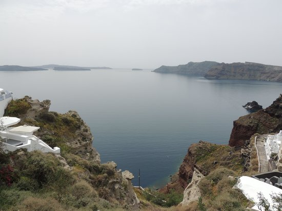 Armeni Village Rooms & Suites : The view from the top of Armeni Village