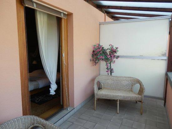 Chambres d'hotes Fahrer Ackermann : Terrasse de la chambre No. 2