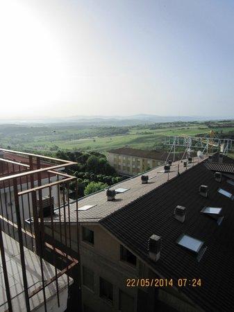 Hotel Cristallo : Skråudsigt fra værelse